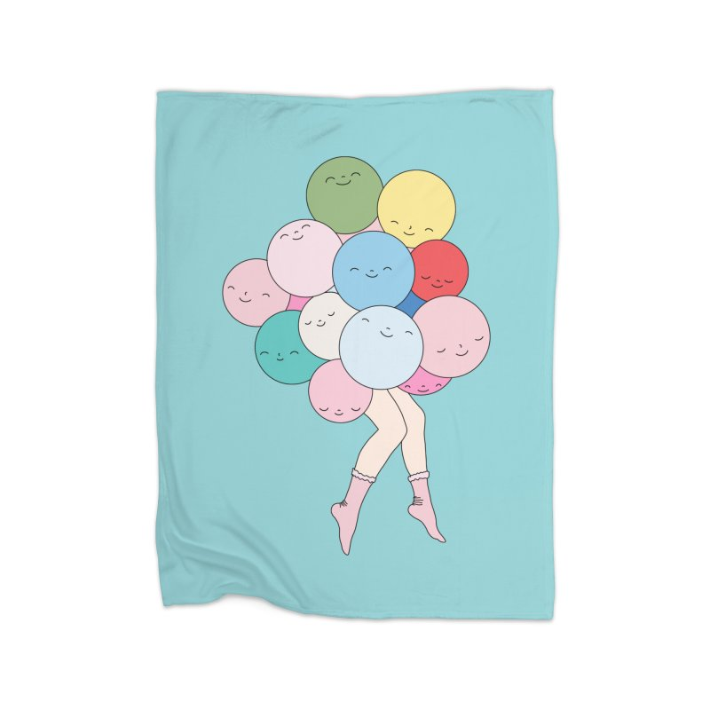Sky party by Elebea Home Blanket by elebea