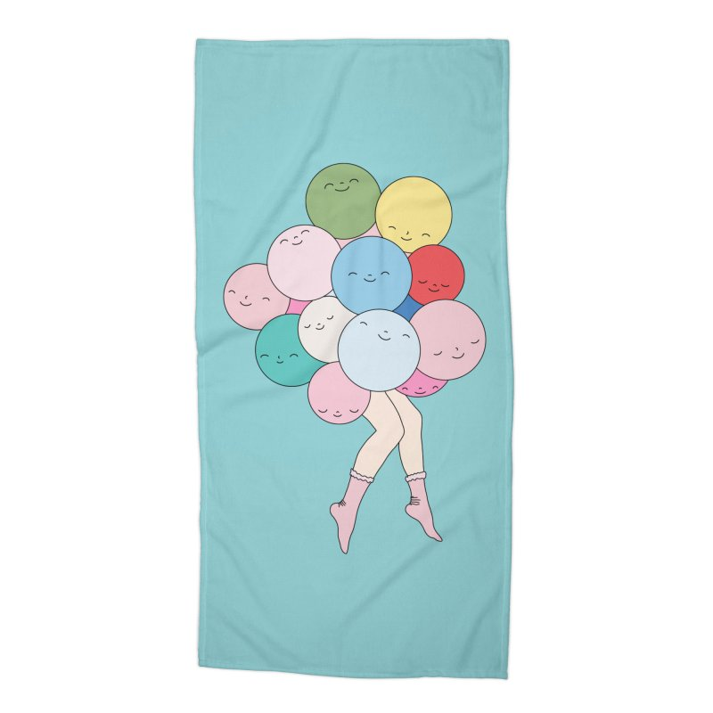 Sky party by Elebea Accessories Beach Towel by elebea