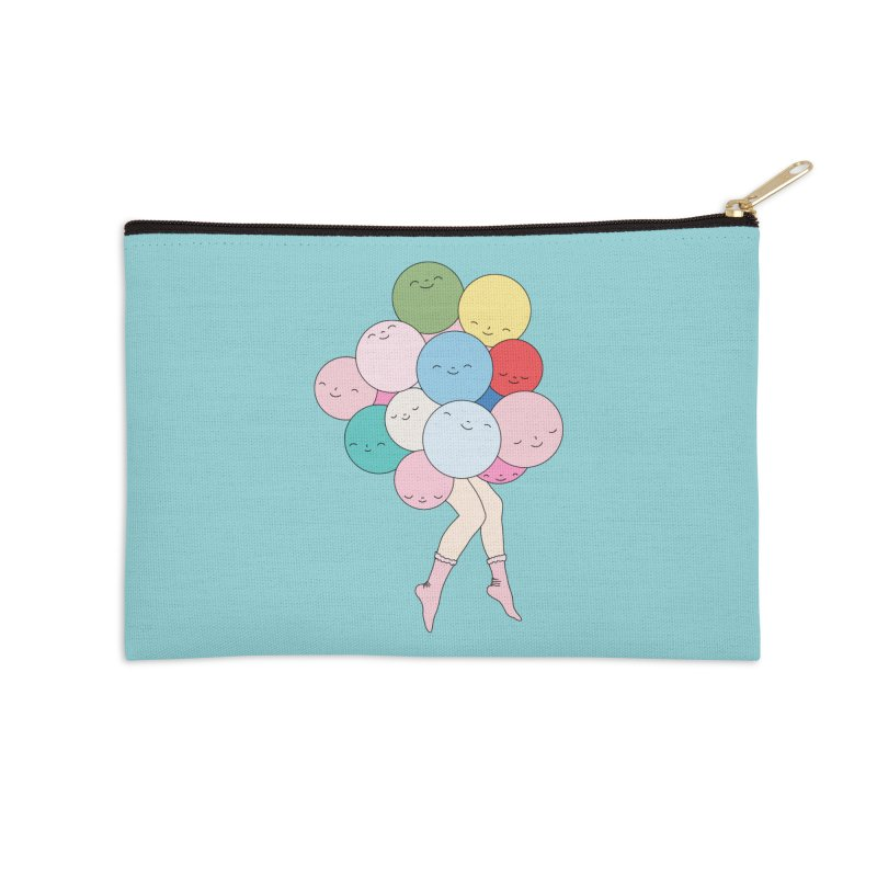 Sky party by Elebea Accessories Zip Pouch by elebea
