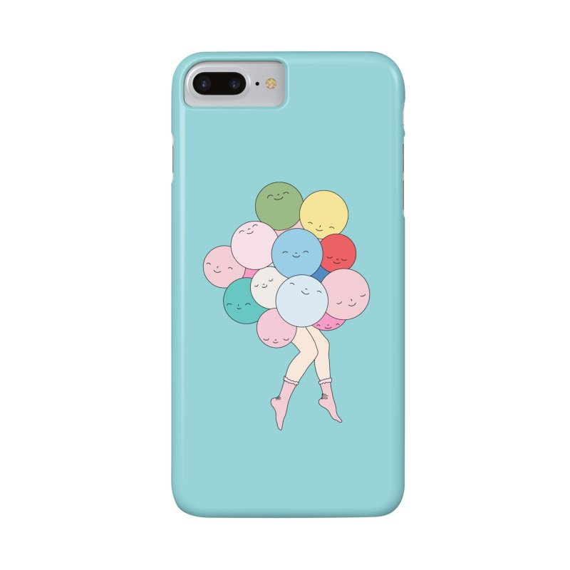 Sky party by Elebea in iPhone 7 Plus Phone Case Slim by elebea