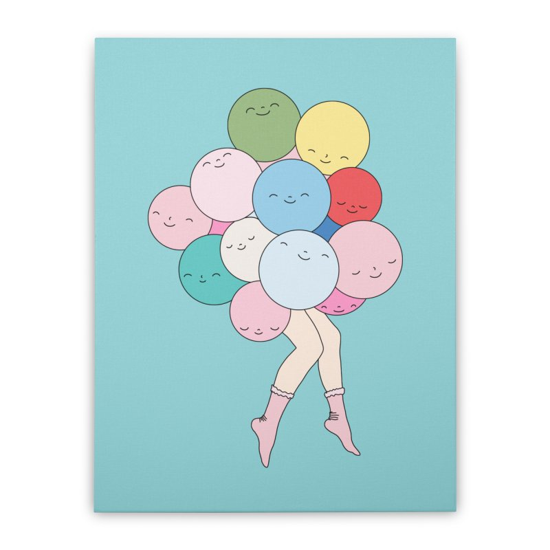 Sky party by Elebea Home Stretched Canvas by elebea