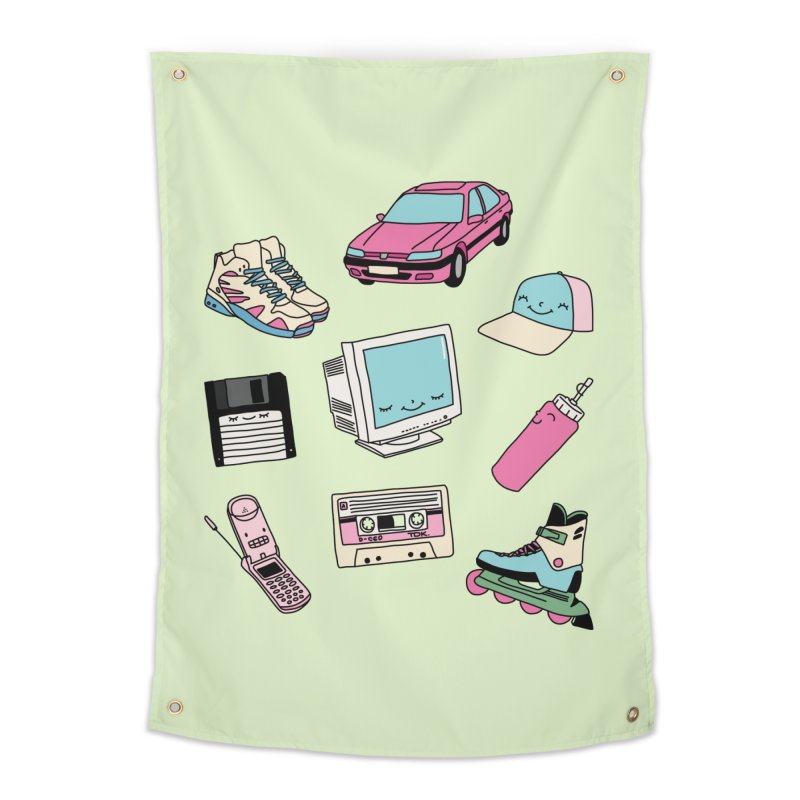 90s paradise by Elebea Home Tapestry by elebea