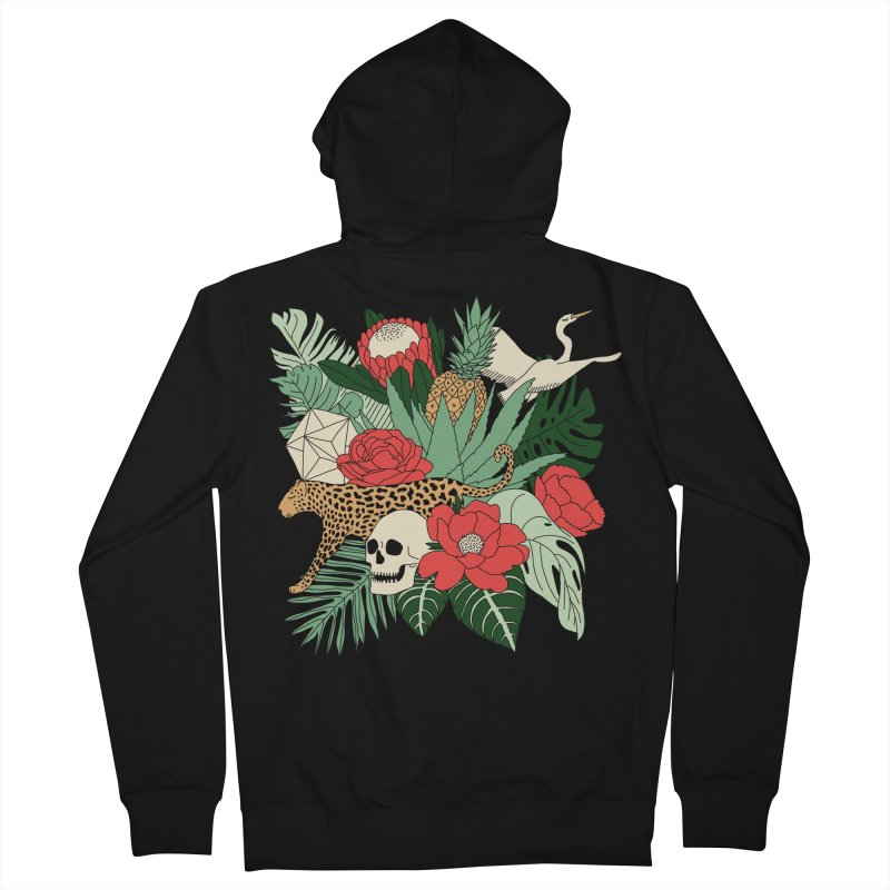 Tropical paradise by Elebea Men's Zip-Up Hoody by elebea