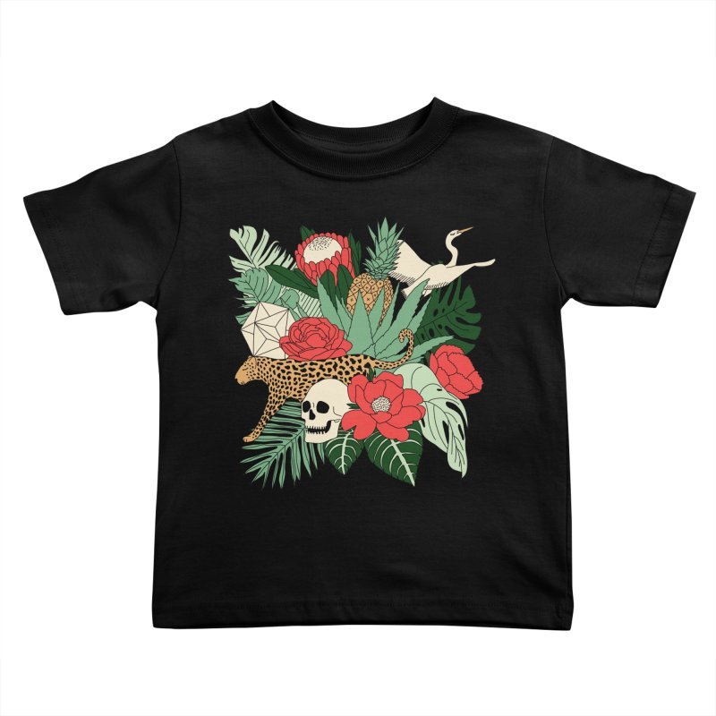 Tropical paradise by Elebea Kids Toddler T-Shirt by elebea