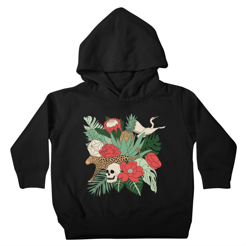 Tropical paradise by Elebea Kids Toddler Pullover Hoody by elebea