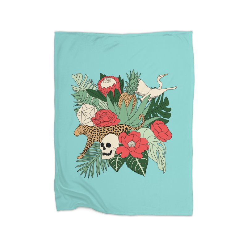 Tropical paradise by Elebea Home Blanket by elebea