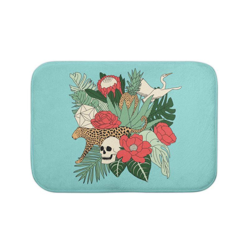 Tropical paradise by Elebea Home Bath Mat by elebea