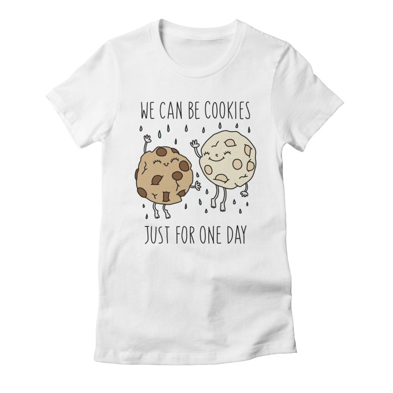 Cookies by Elebea Women's Fitted T-Shirt by elebea