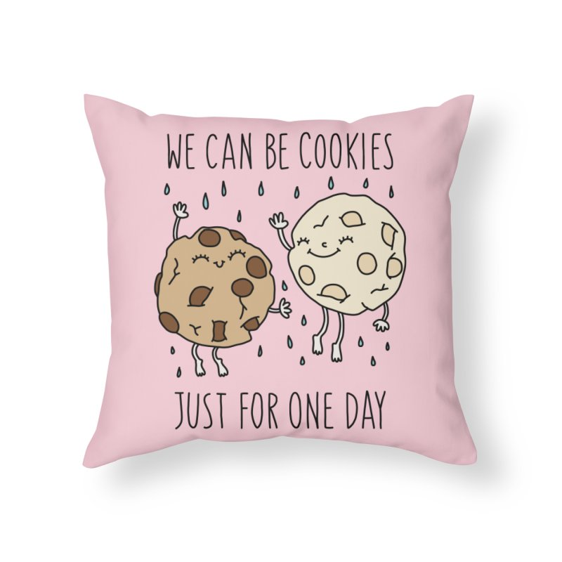 Cookies by Elebea Home Throw Pillow by elebea