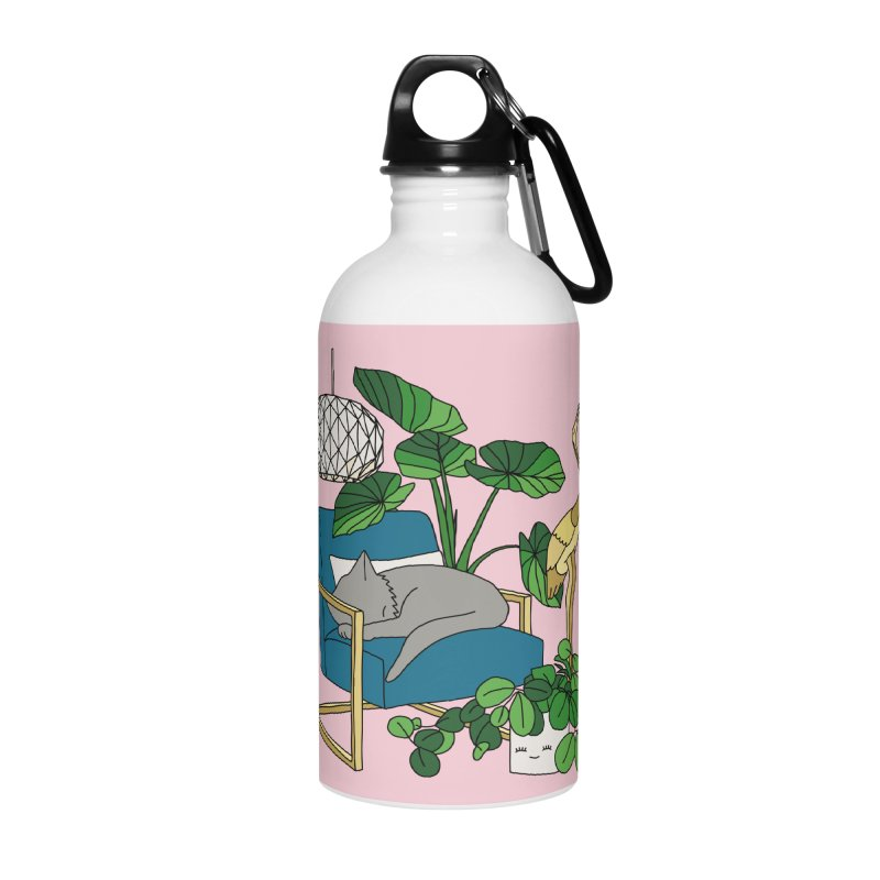 Cat nap by Elebea Accessories Water Bottle by elebea