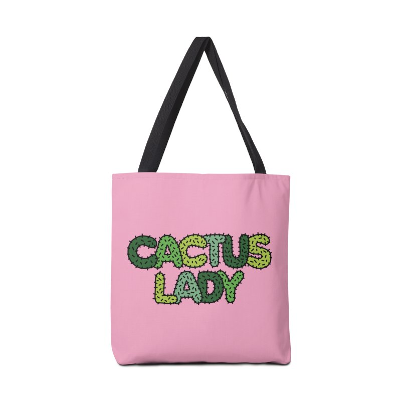 Cactus lady by Elebea Accessories Bag by elebea