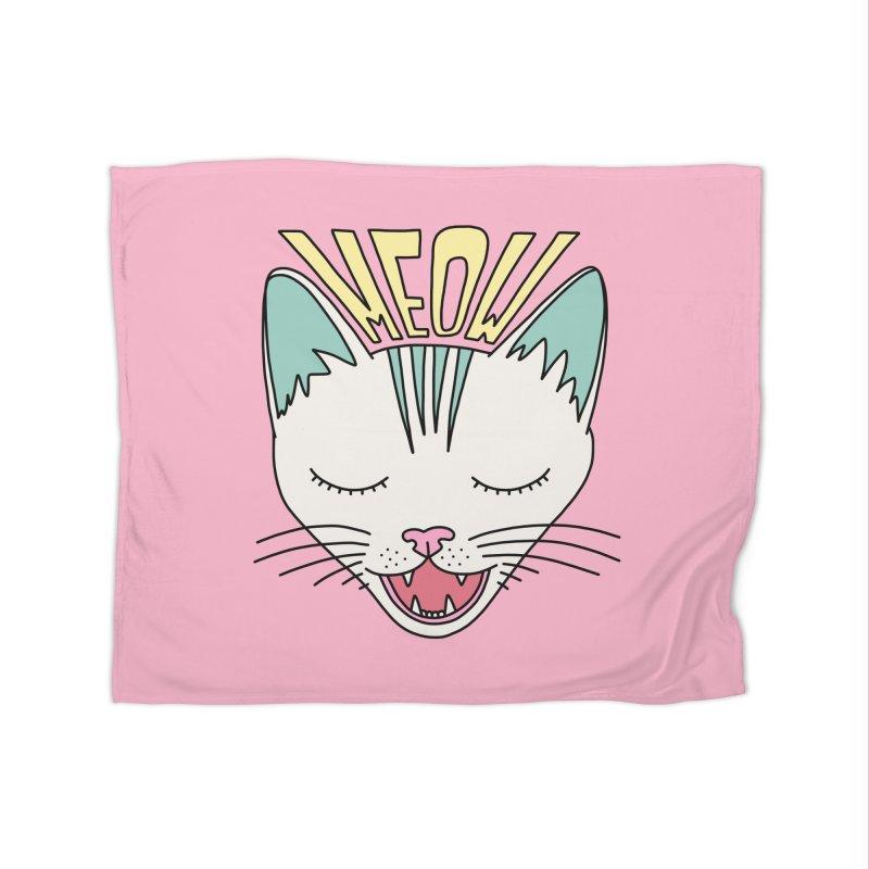 Meow by Elebea Home Blanket by elebea
