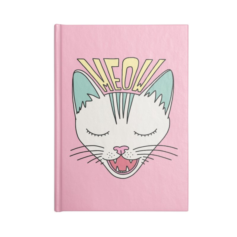 Meow by Elebea Accessories Notebook by elebea
