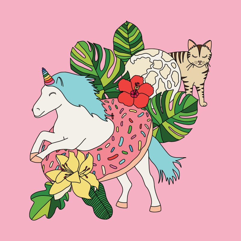 Unicorn paradise by Elebea by elebea