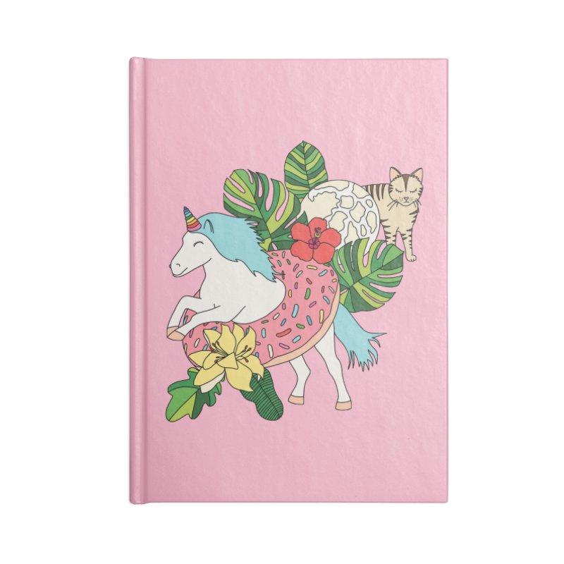 Unicorn paradise by Elebea Accessories Notebook by elebea