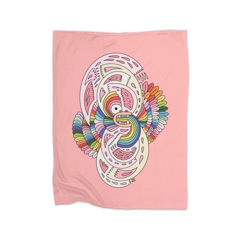 Rainbow dragon by Elebea Home Blanket by elebea