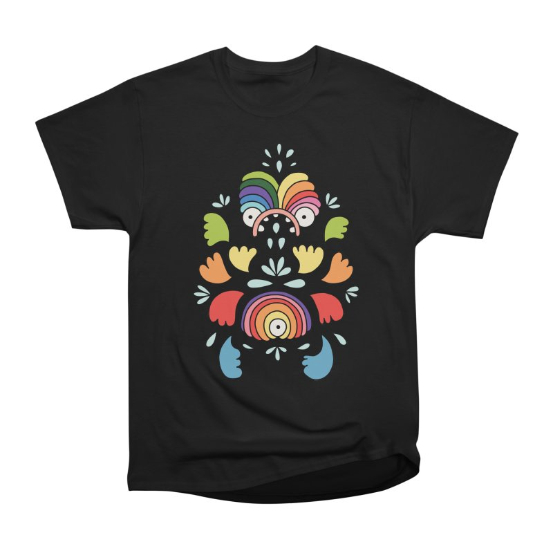 Rainbow angel by Elebea Men's Classic T-Shirt by elebea