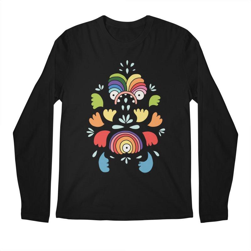Rainbow angel by Elebea Men's Longsleeve T-Shirt by elebea