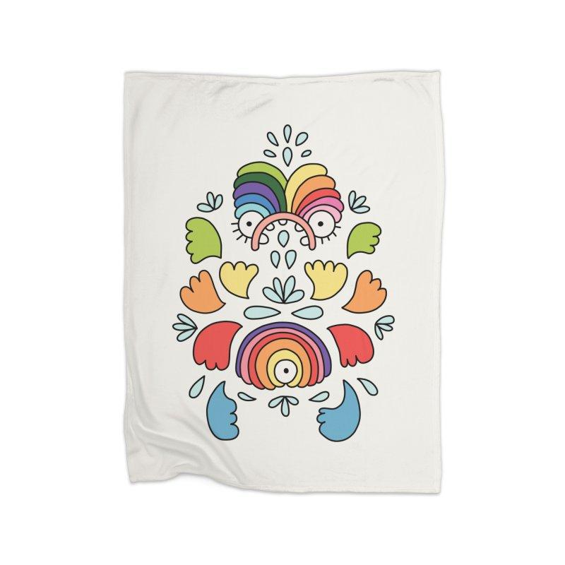 Rainbow angel by Elebea Home Blanket by elebea