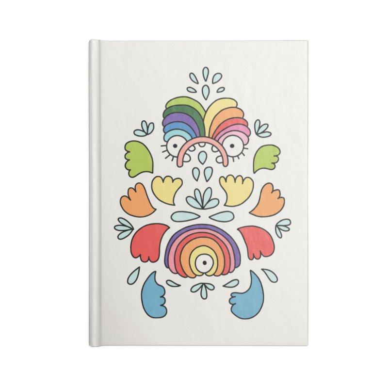 Rainbow angel by Elebea Accessories Notebook by elebea
