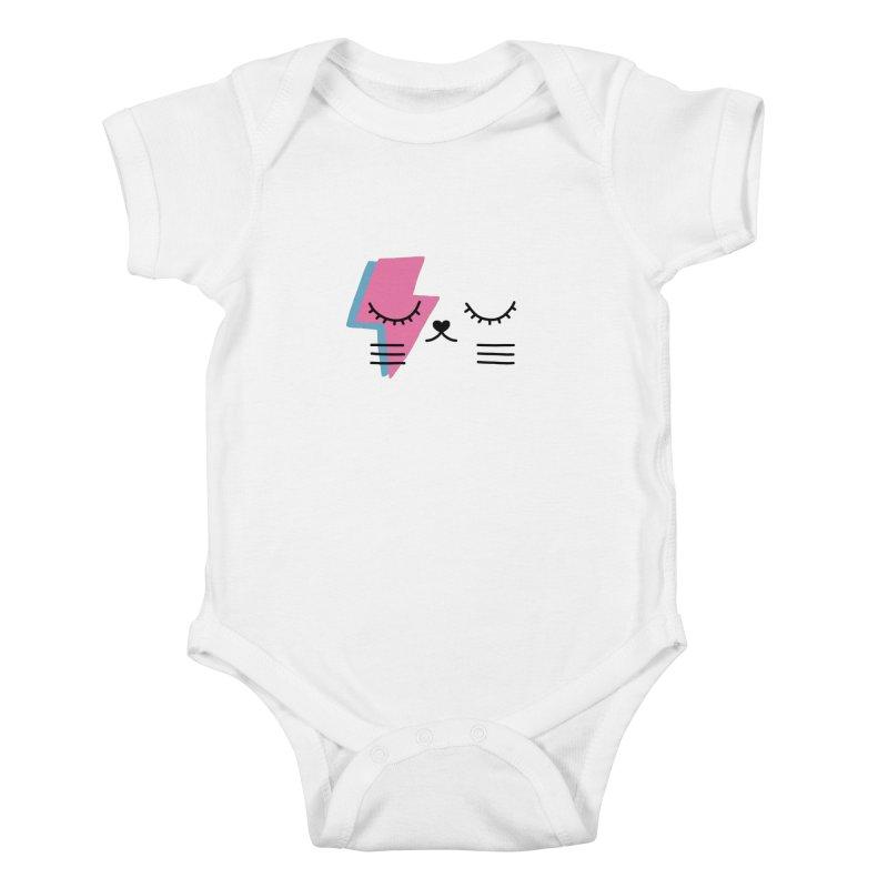 Bowie cat II by Elebea Kids Baby Bodysuit by elebea