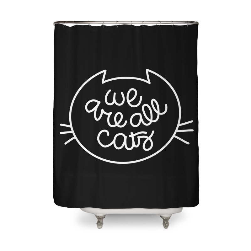 We are all cats by Elebea Home Shower Curtain by elebea
