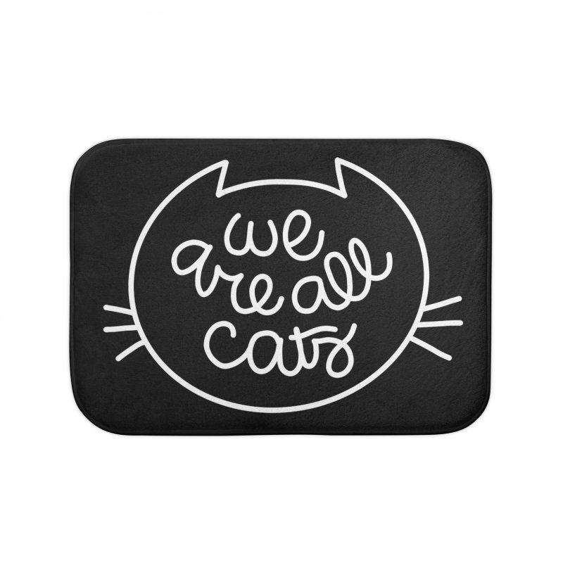 We are all cats by Elebea Home Bath Mat by elebea