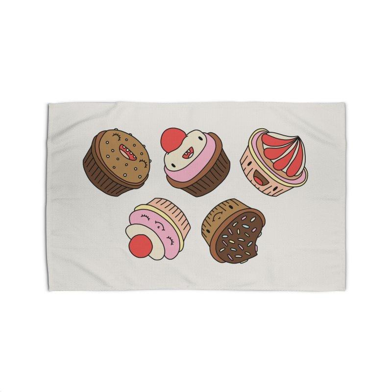 Cupcakes by Elebea Home Rug by elebea
