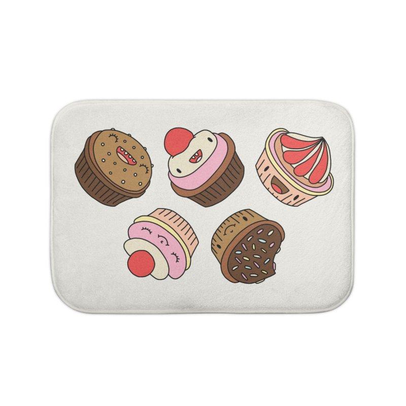 Cupcakes by Elebea Home Bath Mat by elebea