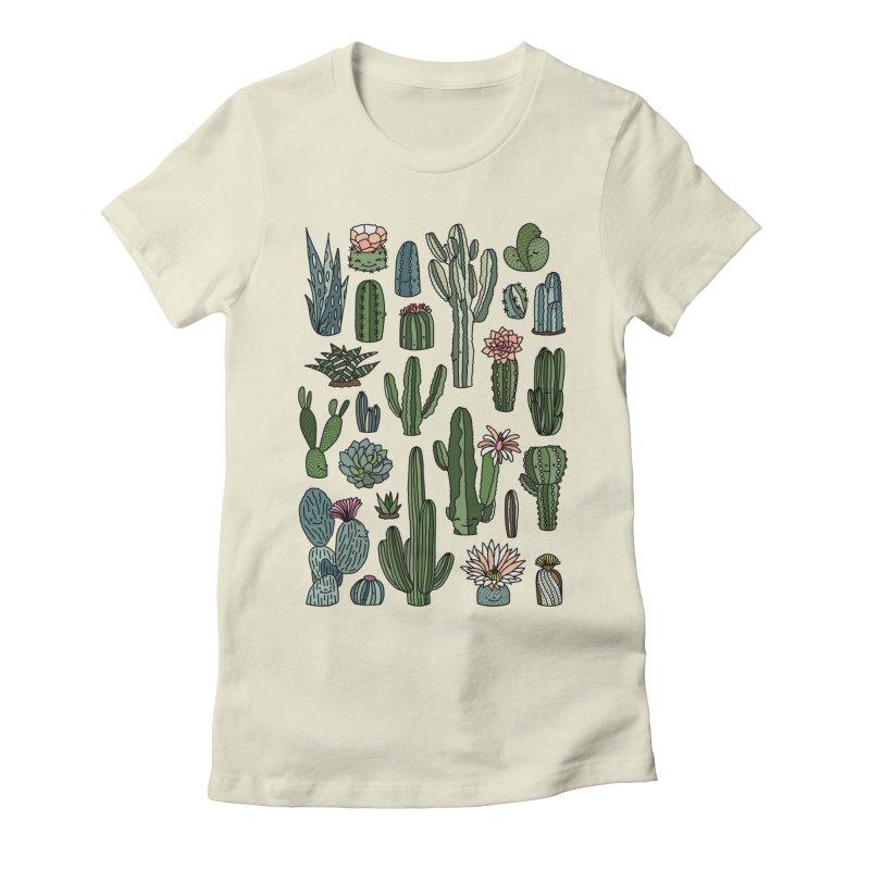 Botanic paradise by Elebea Women's Fitted T-Shirt by elebea