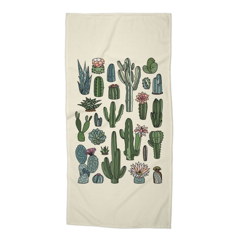 Botanic paradise by Elebea Accessories Beach Towel by elebea