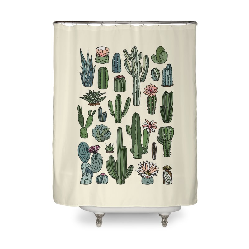 Botanic paradise by Elebea Home Shower Curtain by elebea