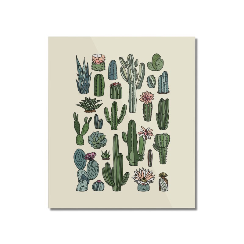 Botanic paradise by Elebea Home Mounted Acrylic Print by elebea