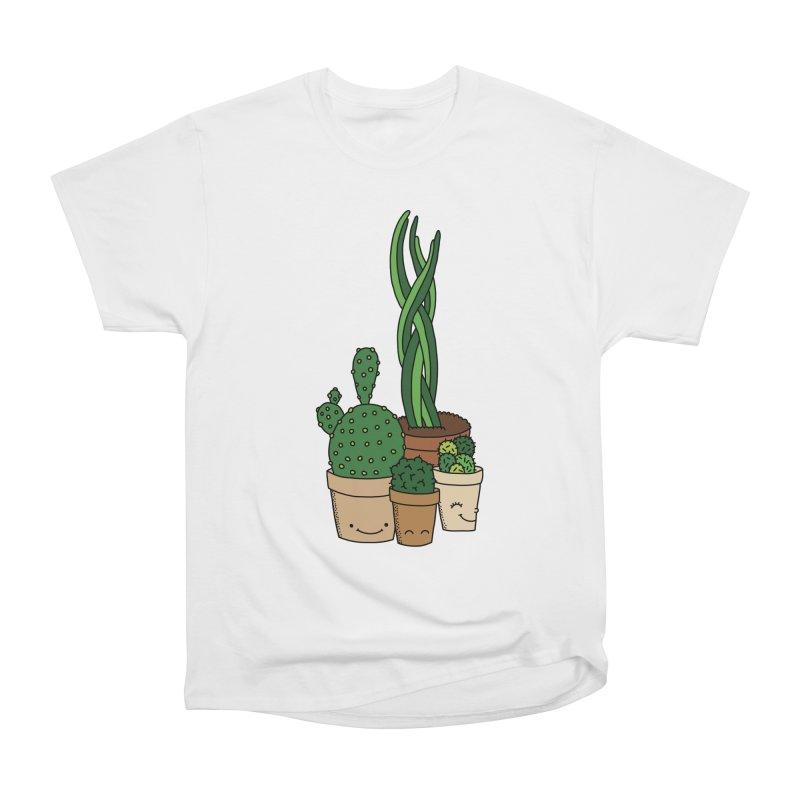 Happy cactus by Elebea Men's Classic T-Shirt by elebea
