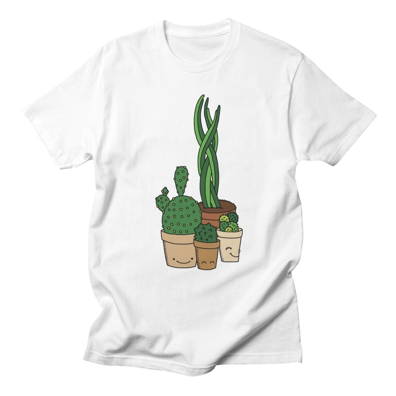 Happy cactus by Elebea Men's T-Shirt by elebea