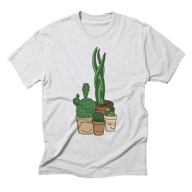 Happy cactus by Elebea Men's Triblend T-Shirt by elebea
