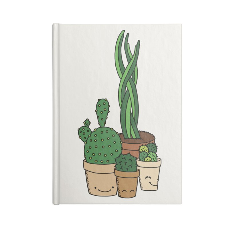 Happy cactus by Elebea Accessories Notebook by elebea