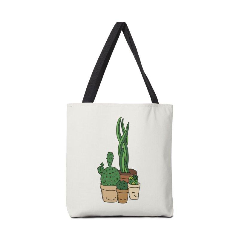 Happy cactus by Elebea Accessories Bag by elebea