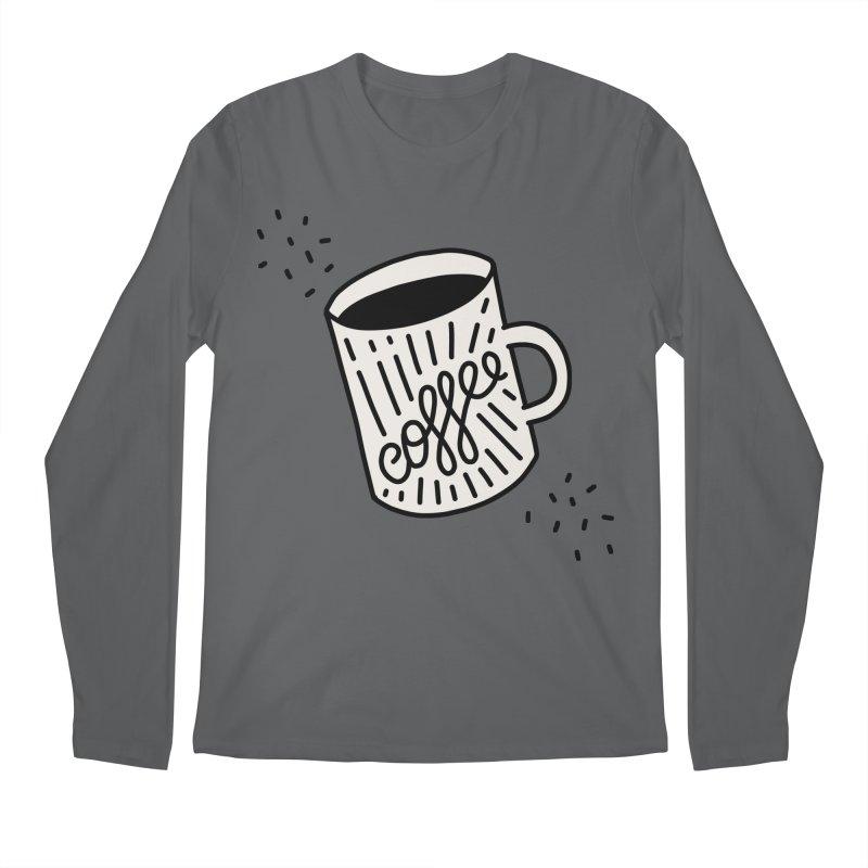 Coffee by Elebea Men's Longsleeve T-Shirt by elebea