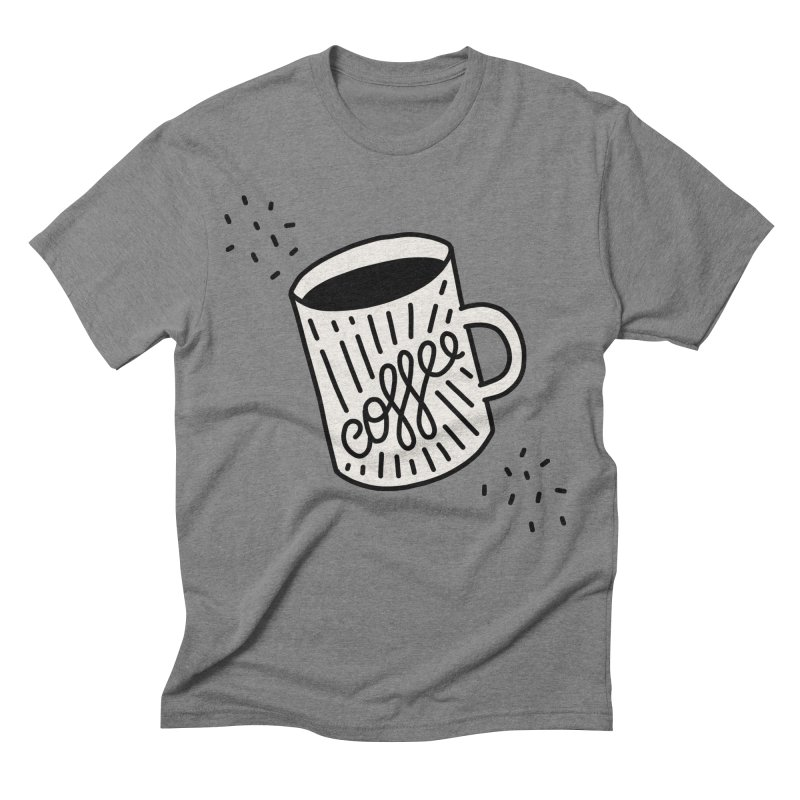 Coffee by Elebea Men's Triblend T-Shirt by elebea