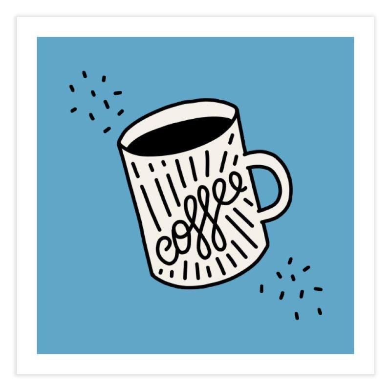 Coffee by Elebea Home Fine Art Print by elebea