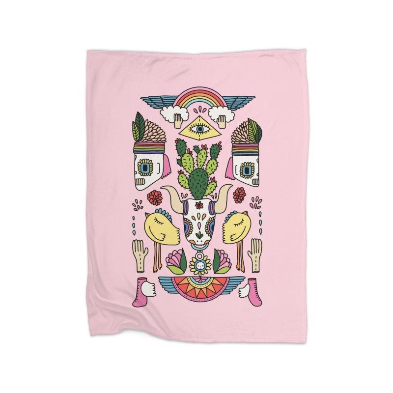 Rainbow desert by Elebea Home Blanket by elebea