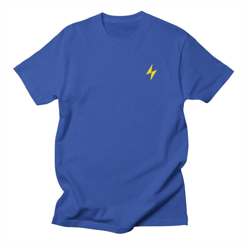 Electric Bolt - Pocket Tee Men's T-Shirt by Electric Graphic Design