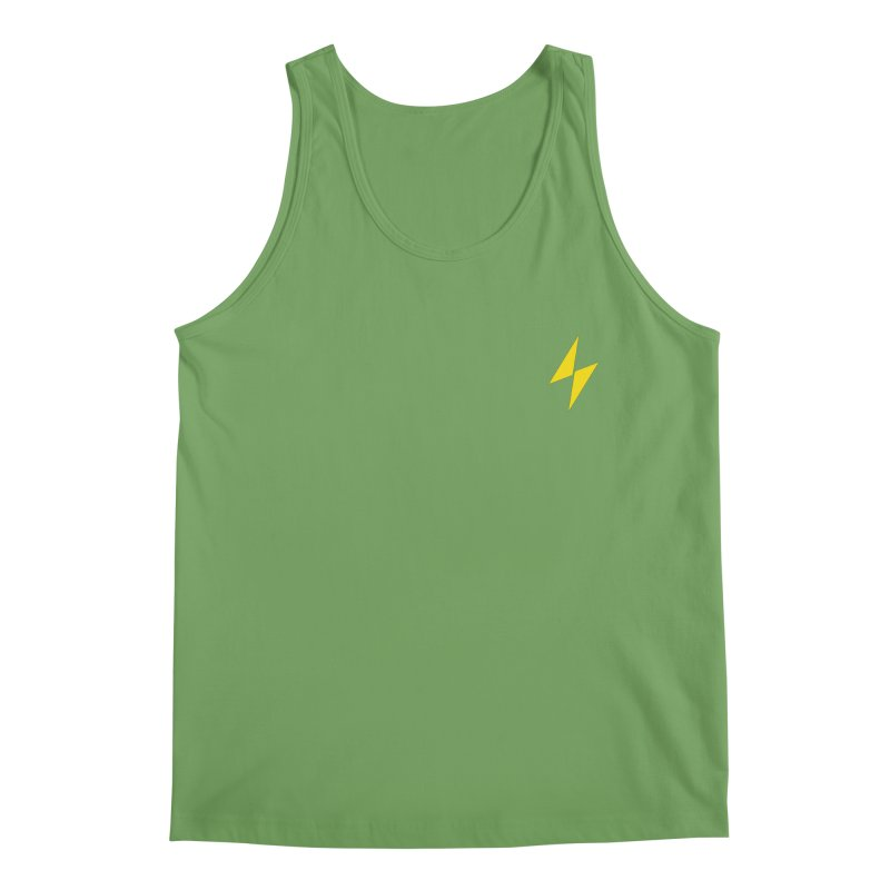 Electric Bolt - Pocket Tee Men's Tank by Electric Graphic Design
