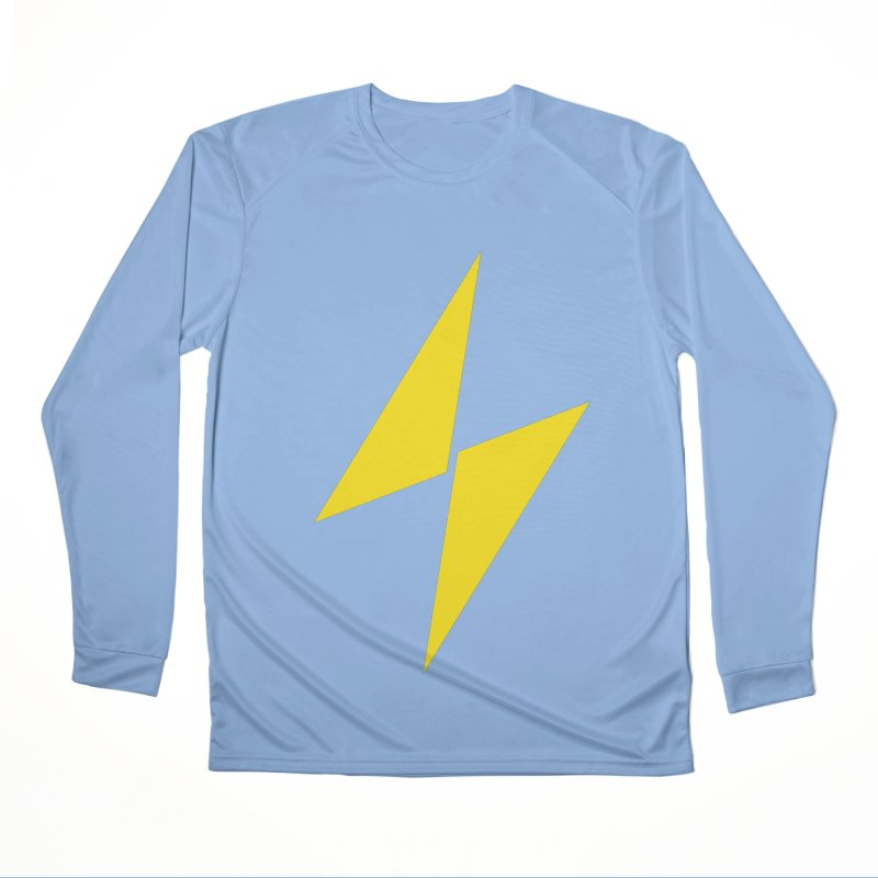 Electric Bolt - Full Frontal Women's Longsleeve T-Shirt by Electric Graphic Design