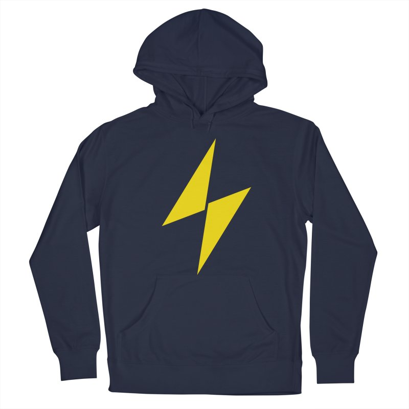 Electric Bolt - Full Frontal Men's Pullover Hoody by Electric Graphic Design