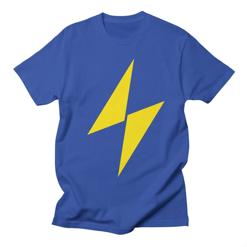 Electric Bolt - Full Frontal Men's T-Shirt by Electric Graphic Design
