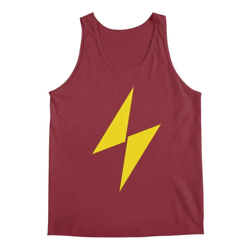 Electric Bolt - Full Frontal Men's Tank by Electric Graphic Design