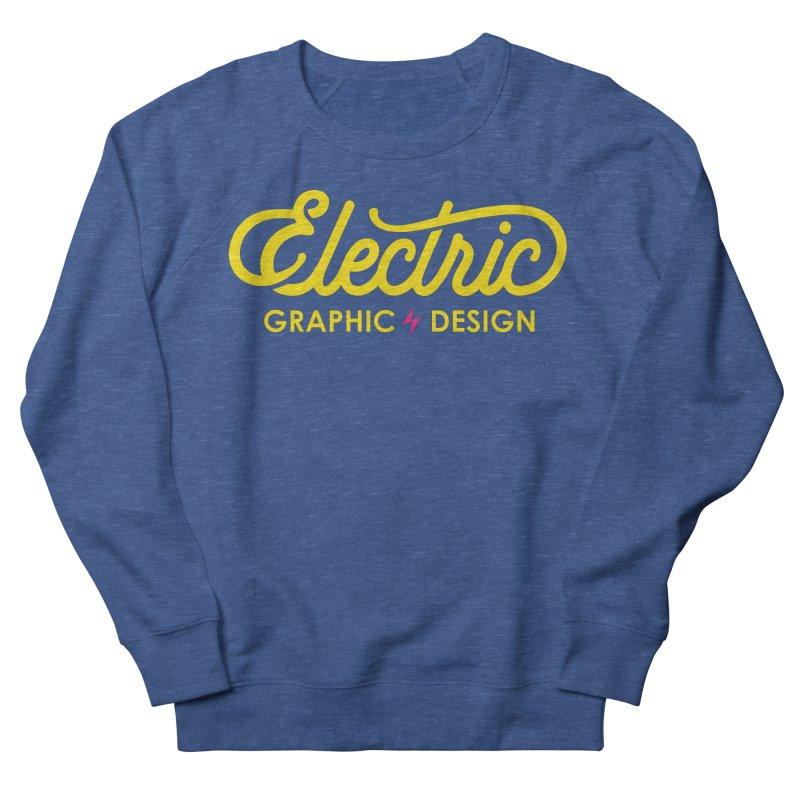 Electric Wordmark - Yellow Women's Sweatshirt by Electric Graphic Design