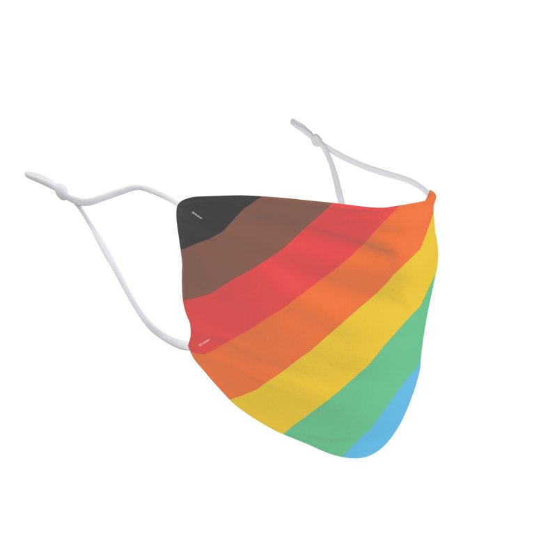 You Are Welcome Here Accessories Face Mask by Electric Graphic Design